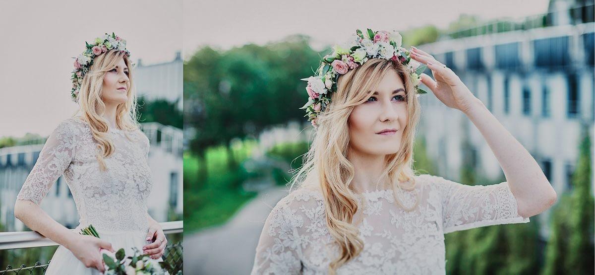 wianek ślubny inspiracje Białystok