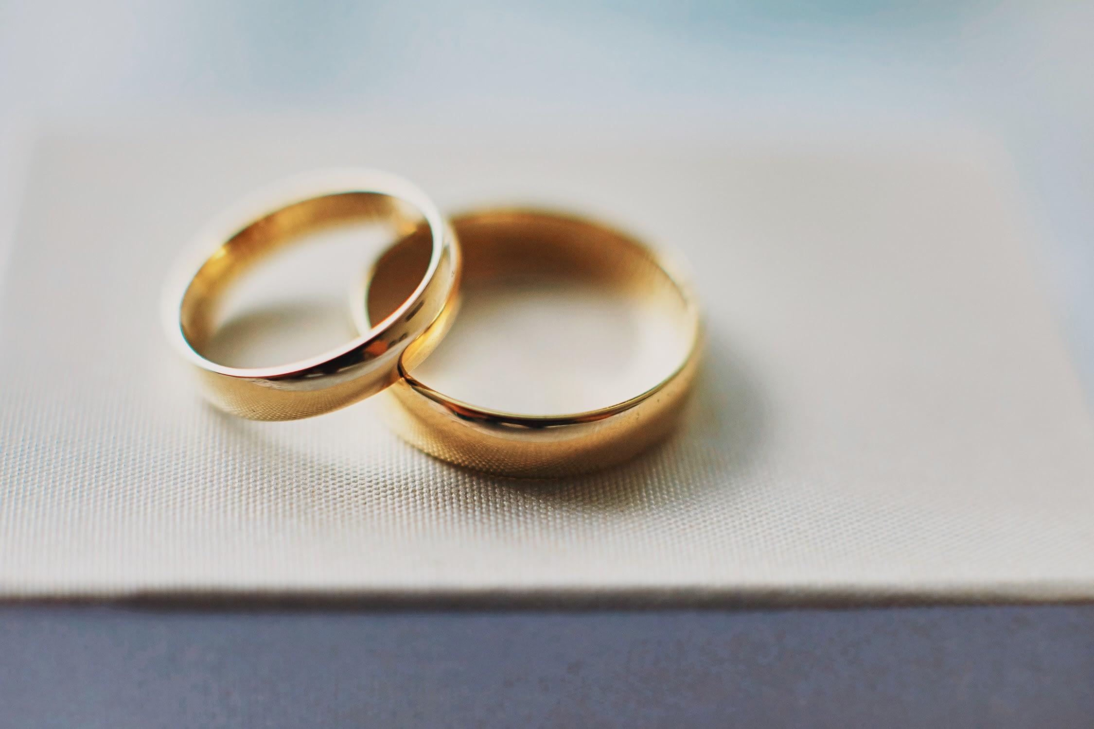 Zdjęcia ślubne detale obrączki