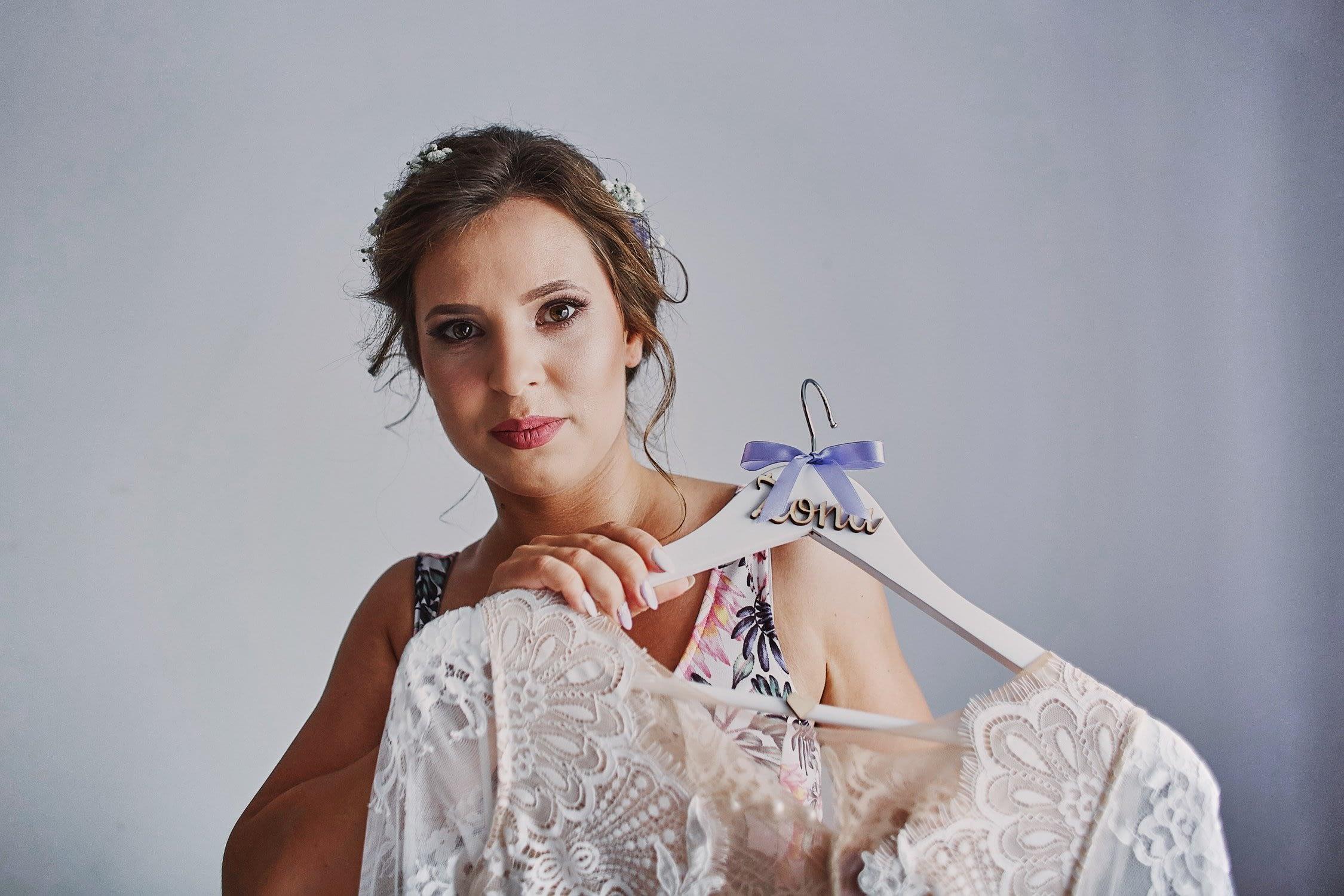 Zdjęcia ślubne panna młoda suknia
