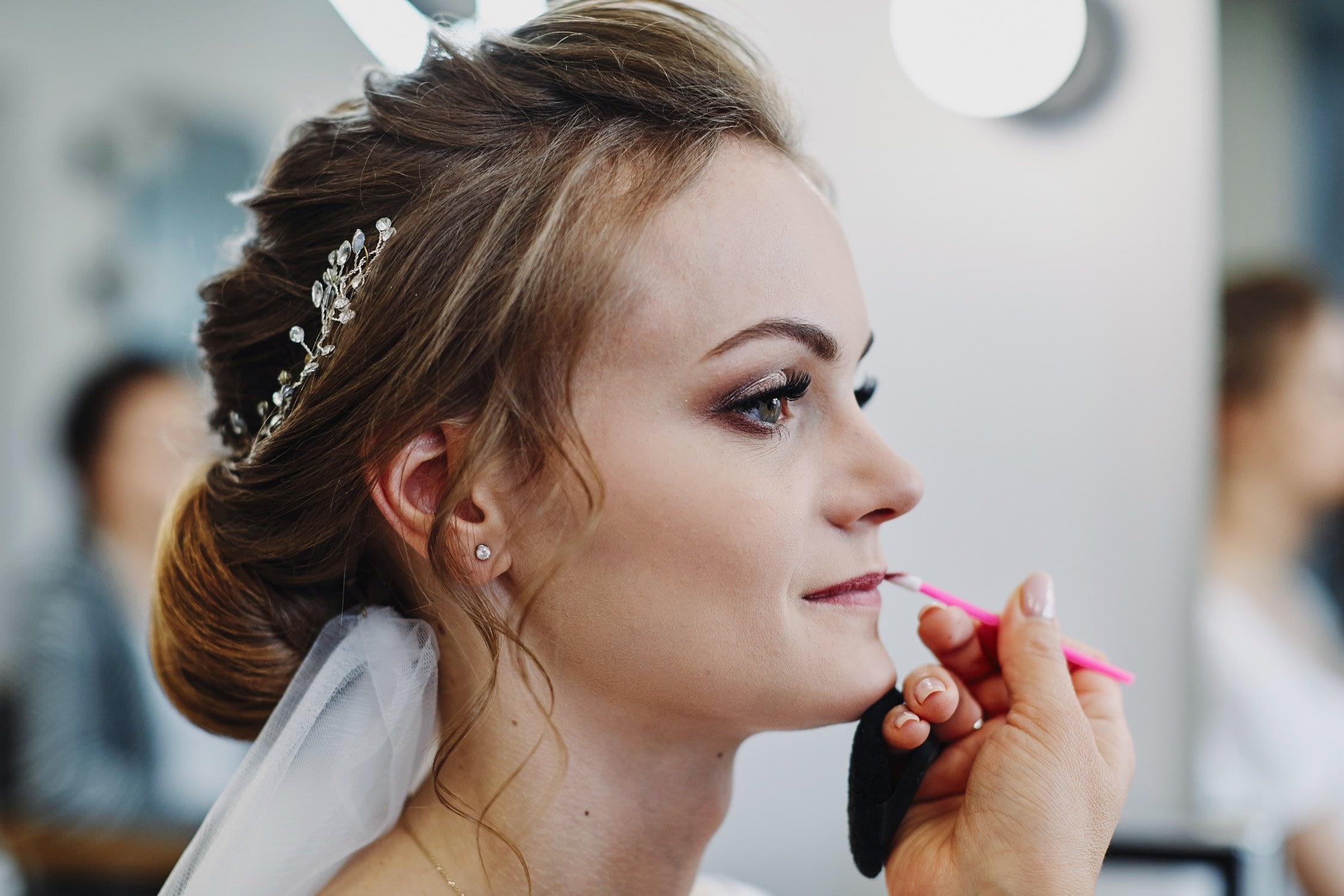 Zdjęcia ślubne make-up