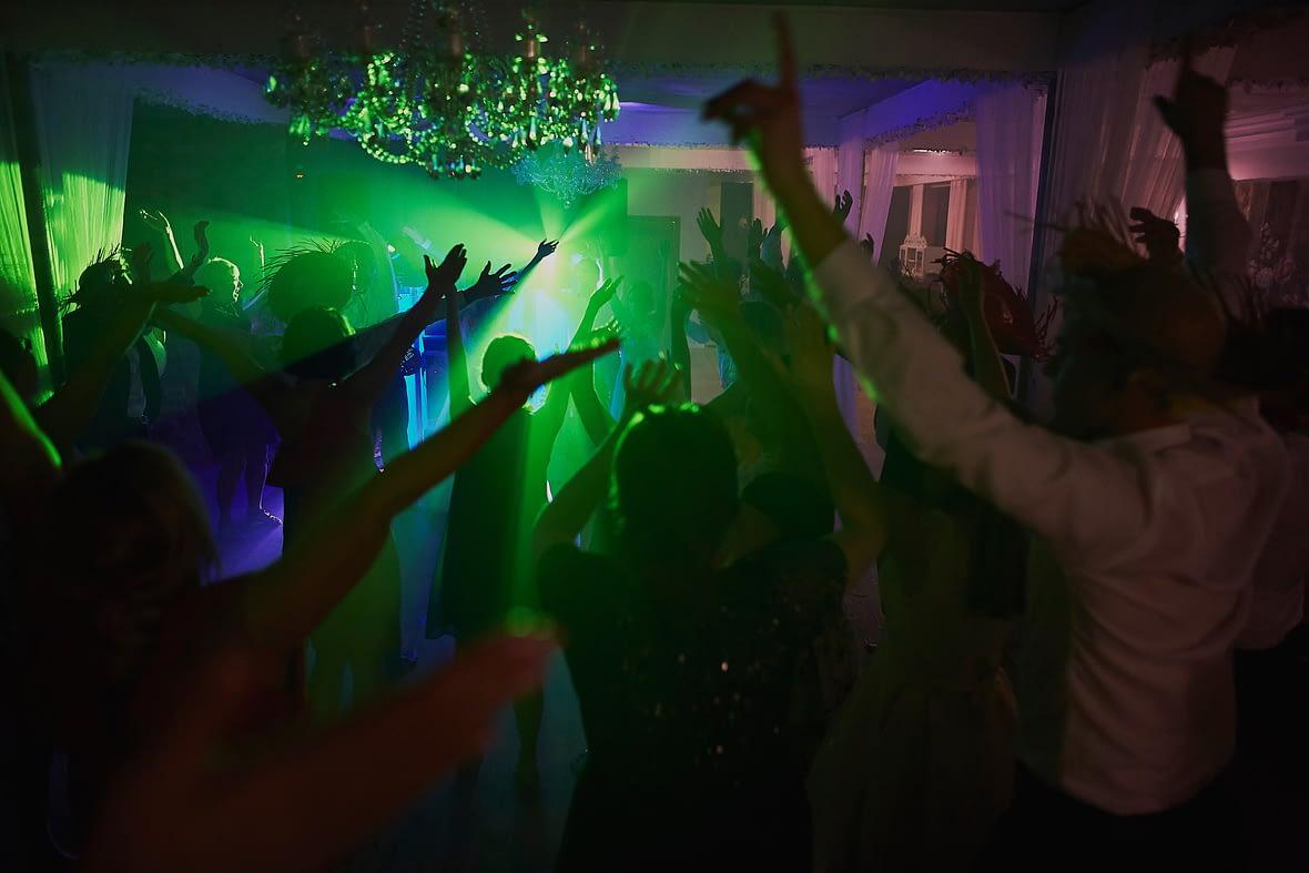 Zdjęcia ślubne wesele światła