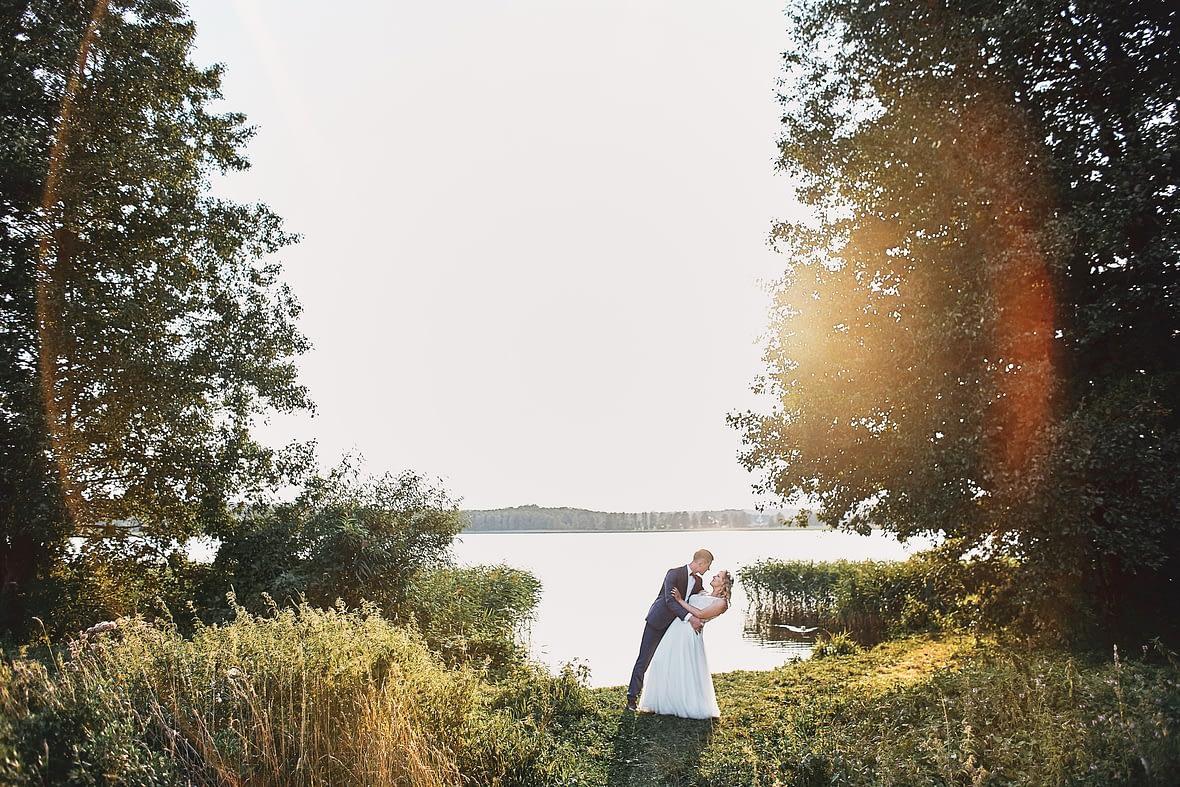 zdjęcia z pleneru ślubnego wigry